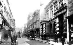 Merthyr Tydfil, High Street c.1906