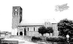 Merthyr Tydfil, Parish Church c.1965