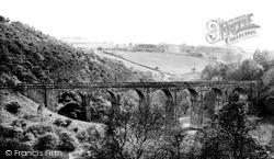 Merthyr Tydfil, Pontsarn Viaduct c.1960