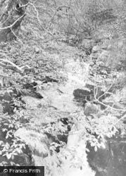 Merthyr Tydfil, The Falls, Pontsarn c.1960