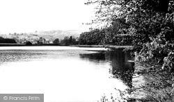 Merthyr Tydfil, The Lake, Cyfarthfa Castle c.1960