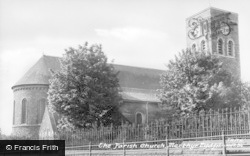 Merthyr Tydfil, The Parish Church c.1960