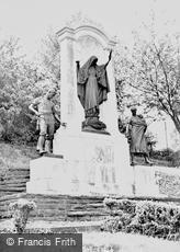 Merthyr Tydfil, the War Memorial c1955