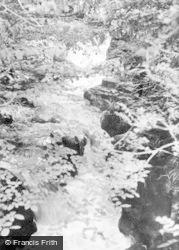 Merthyr Tydfil, The Waterfall, Pontsarn c.1960