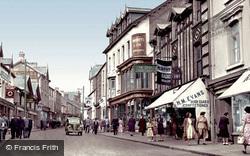 Merthyr Tydfil, Upper High Street c.1955