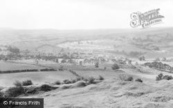 Merthyr Tydfil, View From Morlais Castle, Pontsarn c.1960