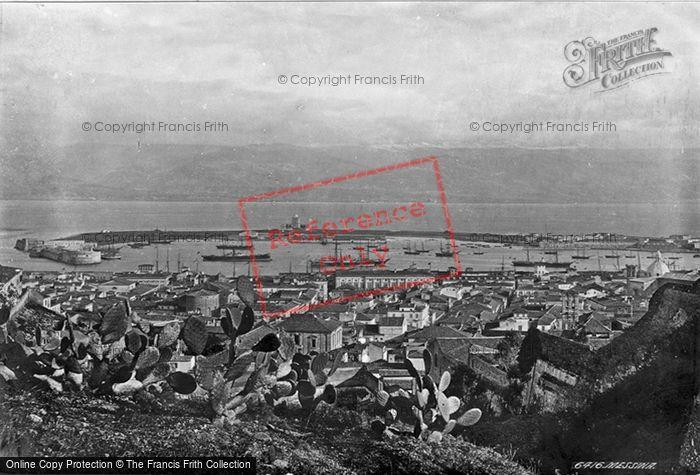 Photo of Messina, Before The Earthquake c.1872