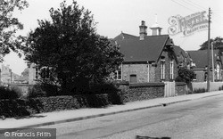 Messingham, The School And Church c.1955