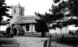 Metheringham, St Wilfrid's Church c.1955