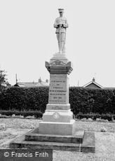 Metheringham, the Memorial c1955
