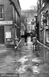 Mevagissey, Fore Street c.1955