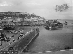 Mevagissey, From West 1935