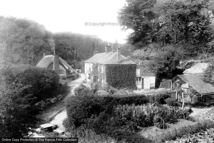 Mevagissey,Heligan Mill1898,Cornwall