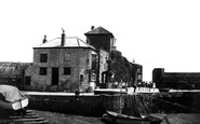Mevagissey, Port Offices c.1955