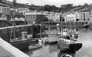 Mevagissey, The Fishquay And Harbour c.1955