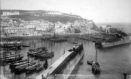 Mevagissey, The Harbour 1898