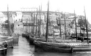 Mevagissey, The Harbour 1904