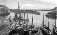 Mevagissey, The Harbour 1920