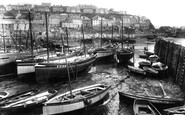 Mevagissey, The Harbour 1924