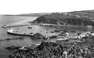 Mevagissey, The Harbour And Coastline 1928