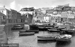 Mevagissey, The Harbour c.1955