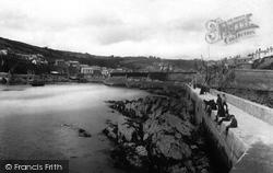 Mevagissey, The Harbour From The Pier 1890