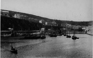 Mevagissey, The Harbour From The Pier 1898