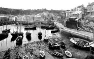 Mevagissey, The Inner Harbour 1924