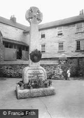 Mevagissey, the War Memorial 1924
