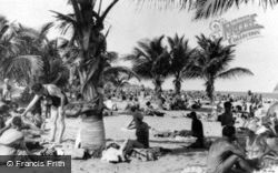 Bathers Under The Palms c.1930, Miami