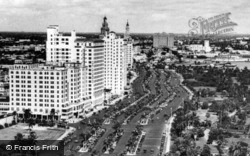 Biscayne Boulevard And Bayfront Park c.1930, Miami