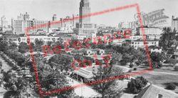 Lummus Park And Downtown c.1930, Miami