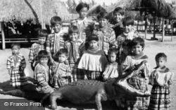Musa Isle, Seminole Children c.1935, Miami