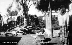 Musa Isle, Seminole Mother And Child c.1935, Miami