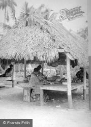 Musa Isle, Seminole Women Sewing c.1935, Miami