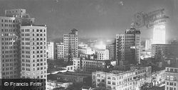 Night View From Everglades Hotel c.1930, Miami