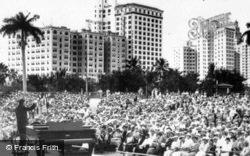 Open Air Auditorium c.1930, Miami