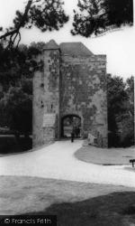 Michelham Priory, The Gatehouse c.1960