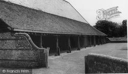 Michelham Priory, The Long Barn c.1965