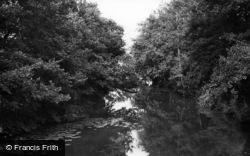 Michelham Priory, The Moat c.1955