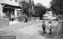 Boys By The Village Store 1904, Mickleham