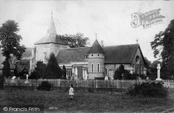 St Michael's Church 1904, Mickleham