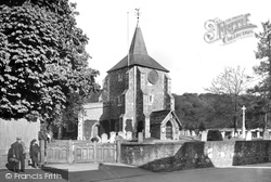 St Michael's Church 1921, Mickleham