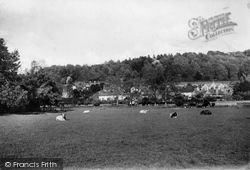 With The Downs 1921, Mickleham