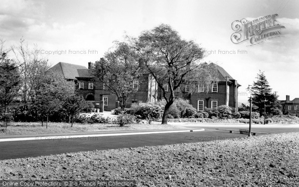 Photo of Mickleover, Pastures Hospital c1955