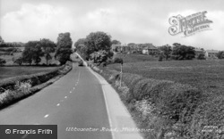 Uttoxeter Road c.1950, Mickleover