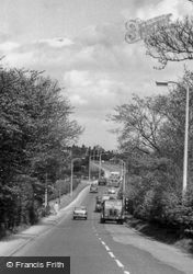 Uttoxeter Road c.1955, Mickleover