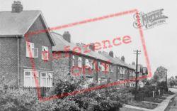 Mickleover, Vicarage Road c.1950