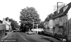 Mickleton, High Street And Kings Arms c.1960