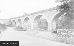 Mickleton, The Lune Bridge And Viaduct c.1955